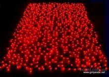 """Гирлянда """"Световой дождь""""  400 лампочек  (Красная) 200х150 см"""