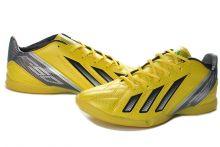 Бутсы детские зальные adidas F50 Indoor IC (желтые)