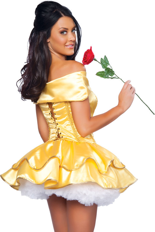 Sexy beauty belle costume