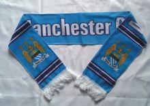 Шарф футбольный Манчестер Сити флисовый