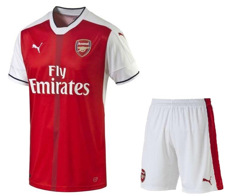 Новая форма Арсенала 2017 - фото