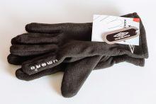 Флисовые спортивные перчатки UMBRO Серые