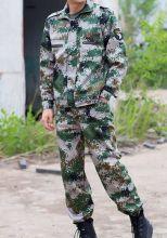 Военный камуфляжный костюм зеленый цифровой