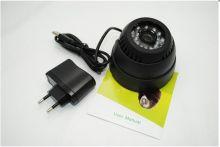 Купольная камера видеонаблюдения с записью на SD карту