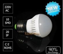 LED лампа 7w (теплый белый свет)
