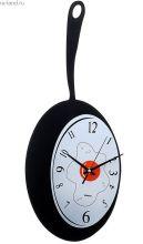 """Часы настенные кухонные """"Сковорода с глазуньей"""""""