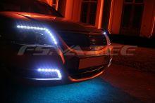 Светодиодная лента 15 LED для тюнинга (30 см) (Синяя)