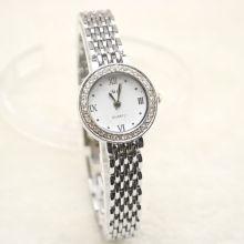 """Часы женские на серебряном ремешке """"Лавинго"""""""